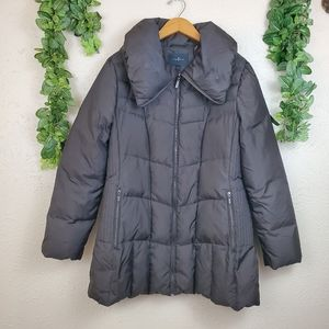 Cole Haan extra warm long puffer jacket w pockets